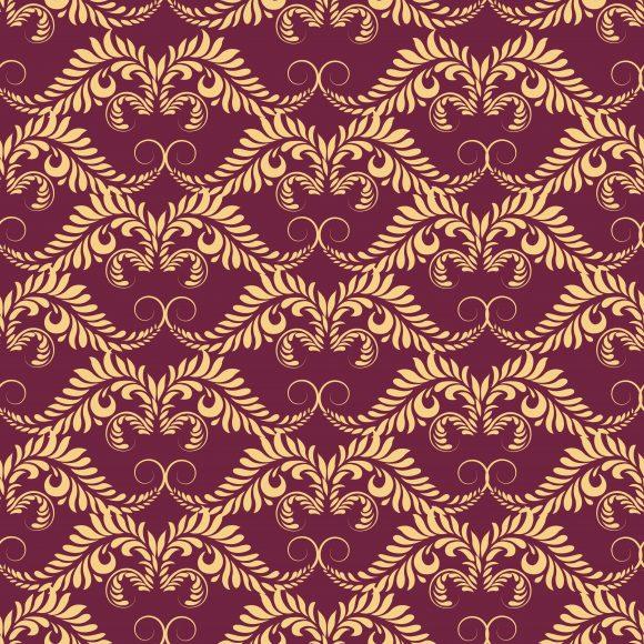 Trendy Seamless Vector Artwork: Vector Artwork Arabesque Seamless Pattern 1