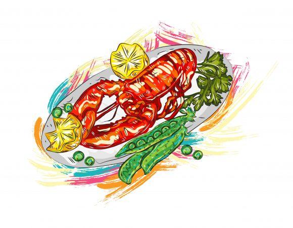Food Vector Design: Cooked Food Vector Design  Illustration 2015 03 03 871
