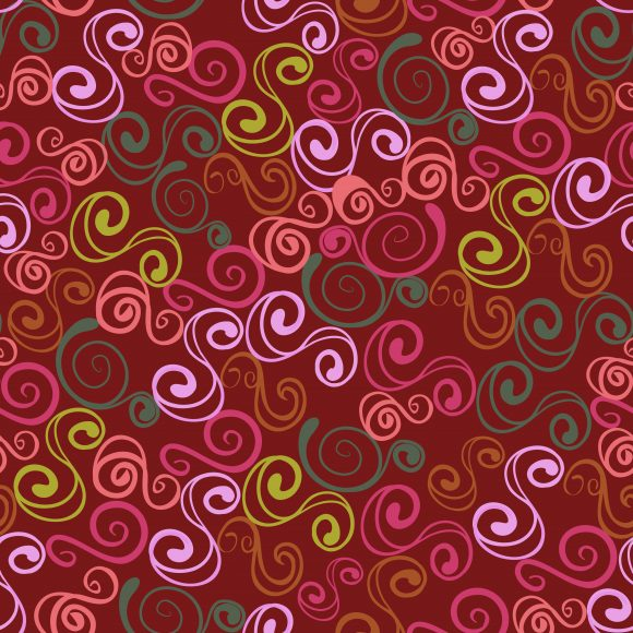 Seamless Vector Image: Vector Image Colorful Seamless Pattern 1