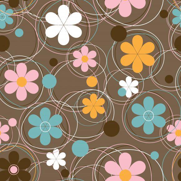 Patternseamlessflowercolorfulshaperepeatmultiplyvectorfakedecorationornateabstractsymboldesignillustrationbackgroundartartworkcreativedecorelegantimage Vector Design: Vector Design Colorful Seamless Pattern 1