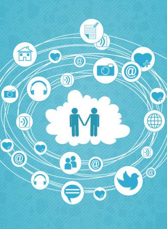 vector social media concept Vector Illustrations vector
