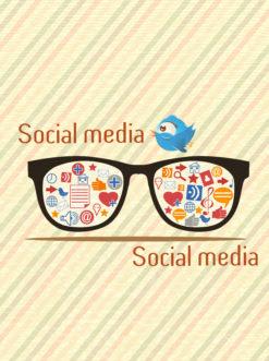 vector social media illustration Vector Illustrations vector
