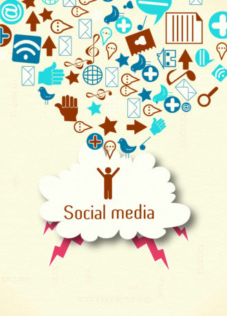 vector social media concept Vector Illustrations vector