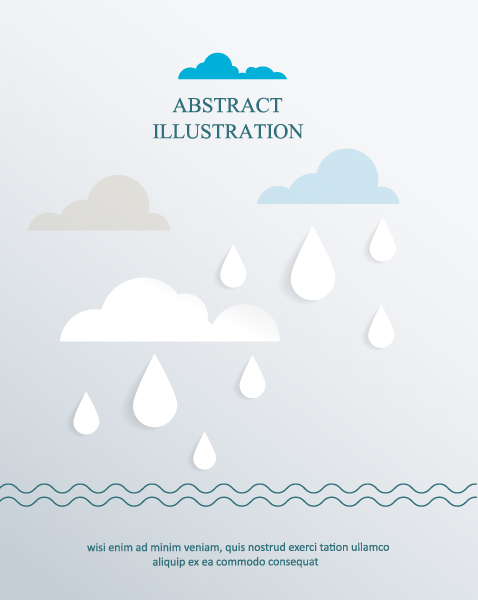 3D abstract vector illustration 5