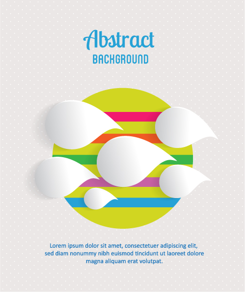Stunning 3d Vector Background: 3d Abstract Vector Background Illustration 2015 04 04 250