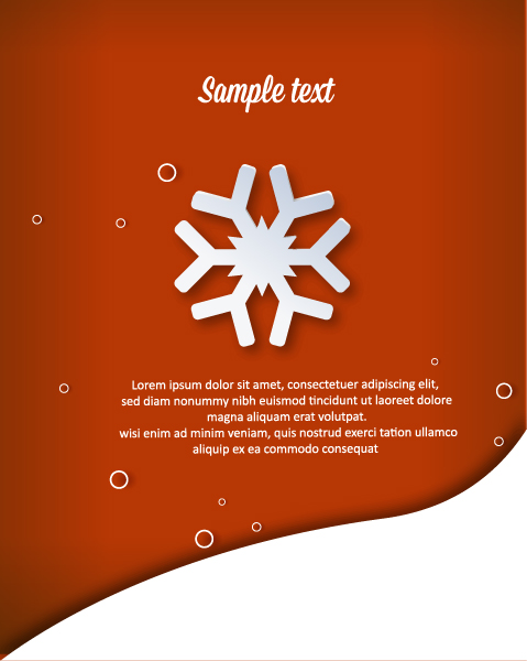 Creative, Christmas Vector Graphic 3d Abstract Vector Illustration  Christmas Snowflake 2015 04 04 253