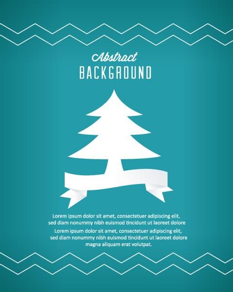 Christmas, Illustration Vector Design 3d Abstract Vector Illustration  Christmas Tree 5