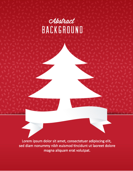 3d Vector Background 3d Abstract Vector Illustration  Christmas Tree 5