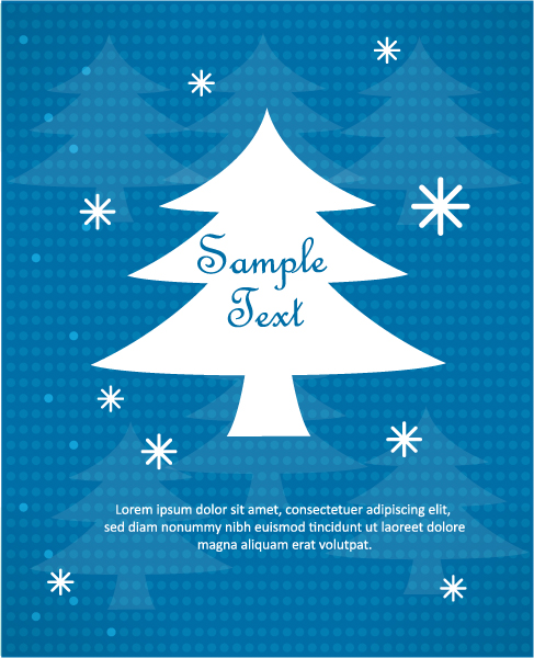 3d, New Vector 3d Abstract Vector Illustration  Christmas Tree 5