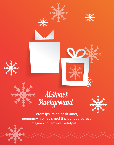Striking 3d Vector Artwork: 3d Abstract Vector Artwork Illustration With Christmas Gift 5