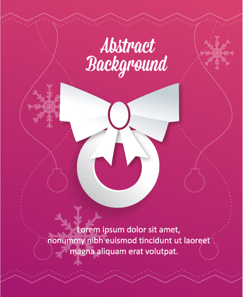 3d Vector Image: 3d Abstract Vector Image Illustration With Christmas Globe And Bow 5