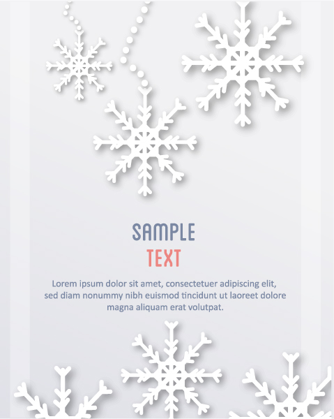 Brilliant Christmas Vector Graphic: 3d Abstract Vector Graphic Illustration With Christmas Snowflake 2015 04 04 324