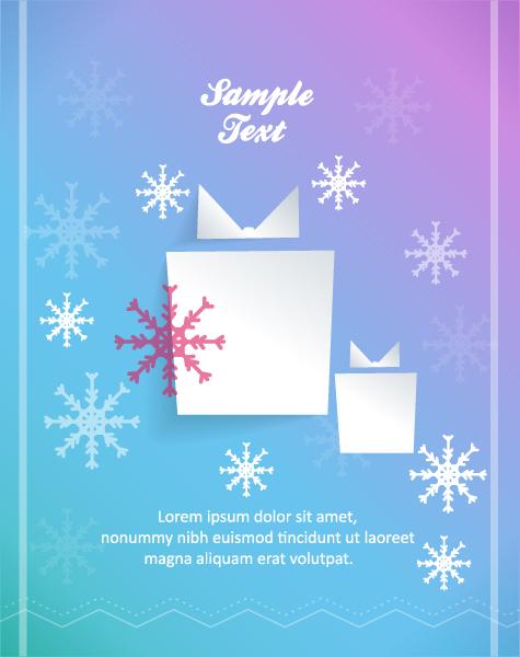 Illustration Vector Artwork 3d Abstract Vector Illustration  Christmas Gift 2015 04 04 326
