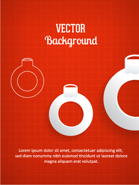 Best Globe Vector Art: 3d Abstract Vector Art Illustration With Christmas Globe 5