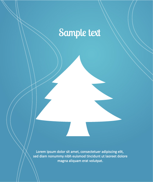 3d Vector Design: 3d Abstract Vector Design Illustration With Christmas Tree 5
