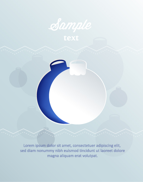Exciting Christmas Vector Art: 3d Abstract Vector Art Illustration With Christmas Globe 5
