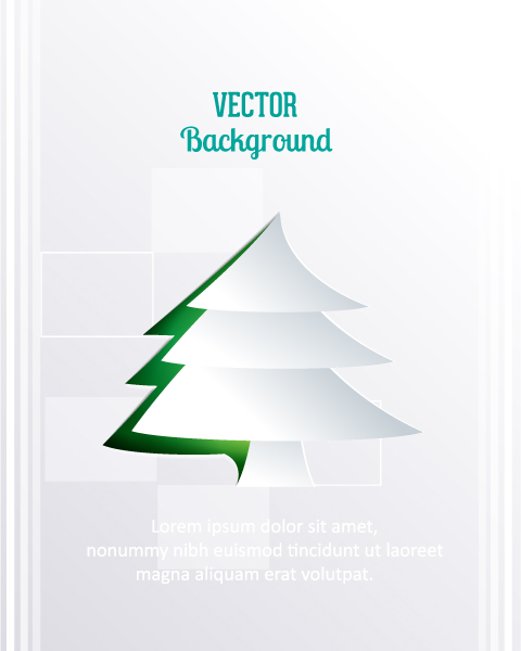 Christmas Vector Design 3d Abstract Vector Illustration  Christmas Tree 2015 04 04 350