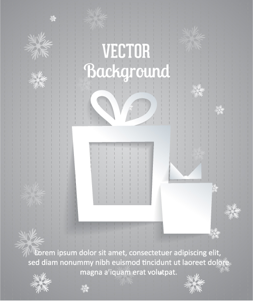 3d Vector Image 3d Abstract Vector Illustration  Christmas Gift 2015 04 04 353