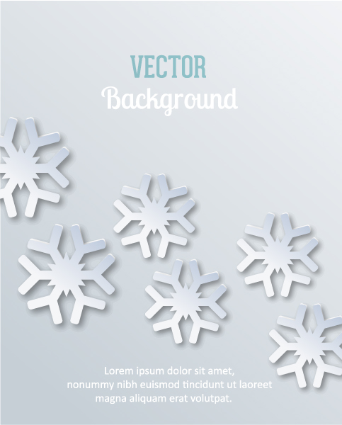 Illustration Vector Graphic 3d Abstract Vector Illustration  Christmas Snowflakes 2015 04 04 360