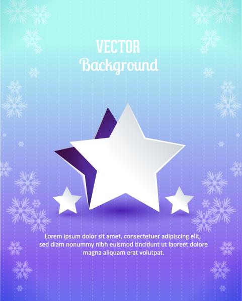Smashing Star Vector: 3d Abstract Vector Illustration With Christmas Star 2015 04 04 362
