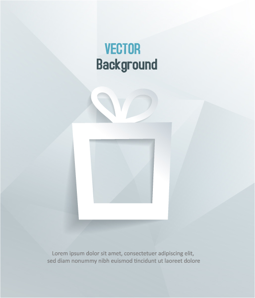 Unique Gift Vector Illustration: 3d Abstract Vector Illustration Illustration With Gift 2015 04 04 373