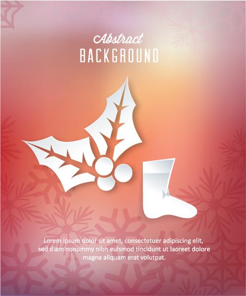 Illustration Vector Graphic 3d Abstract Vector Illustration  Sticker Socks  Decorations 2015 04 04 375