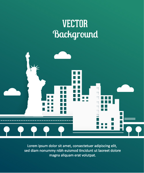New Creative Eps Vector: 3d Abstract Eps Vector Illustration With Abstract Buildings 5