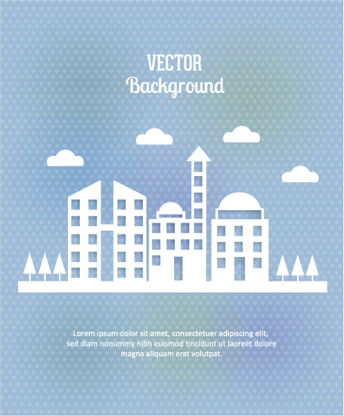 Buildings Vector Image 3d Abstract Vector Illustration  Abstract Buildings 5