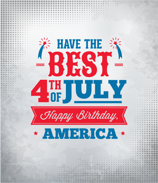 fourth of july vector illustration 2015 04 04 809