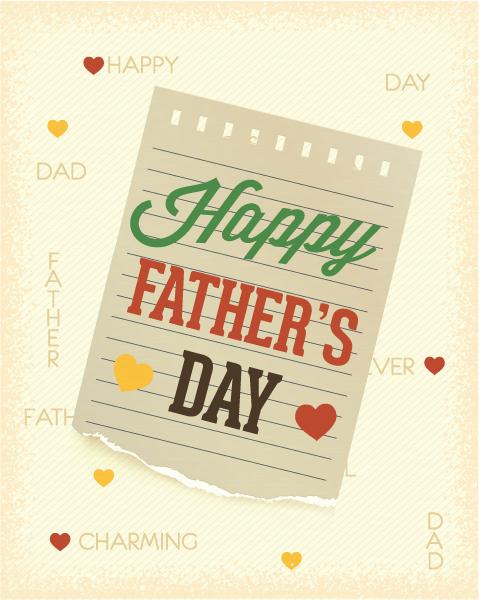 "Vintage, Celebrate, Font ""fathers"", Doodle, Paper Vector Illustration Fathers Day Vector Illustration  Vintage Retro Type Font, Torn Paper 1"