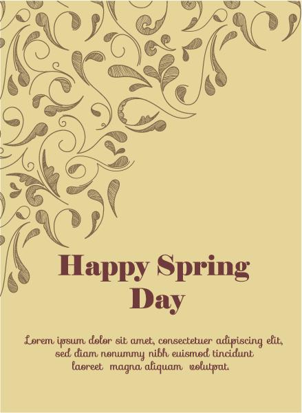 Best Vector Vector Illustration: Spring  Vector Illustration Illustration With Flowers 1