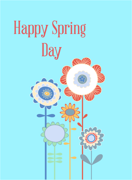 Buy Advertisement Vector Illustration: Spring  Vector Illustration Illustration With Flowers 1