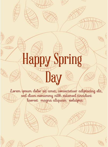 Spring, Element, Illustration Vector Illustration Spring  Vector Illustration  Flowers 1