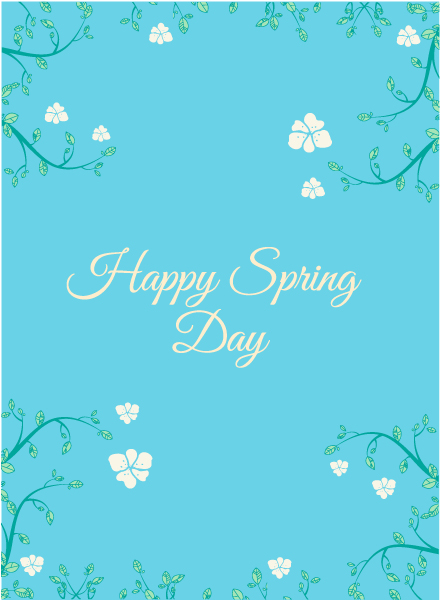 Surprising Flowers Vector Art: Spring  Vector Art Illustration With Flowers 1