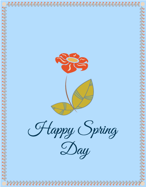 Vector Vector Image: Spring  Vector Image Illustration With Flowers 1