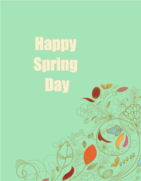 Creative Vector Graphic Spring  Vector Illustration  Flowers 1