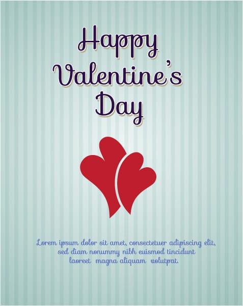 Creative, Heart, Illustration Vector Background Valentines Day Vector Illustration  Heart 2015 05 05 176