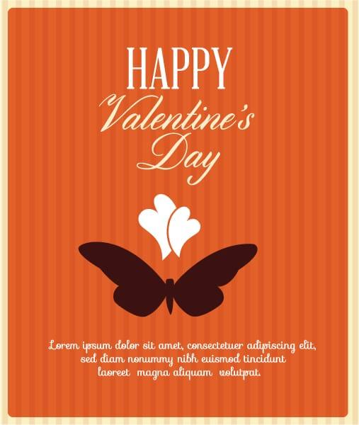 Vector, Butterfly, Illustration Eps Vector Valentines Day Vector Illustration  Heart  Butterfly 2015 05 05 177