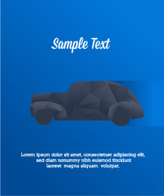 Vector Illustration with abstract background with car Vector Illustrations vector
