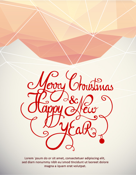 Christmas, Typography Eps Vector Christmas Vector Illustration  Typography Elements 2015 05 05 381