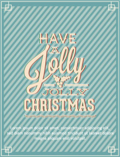 Christmas Vector illustration Vector Illustrations old