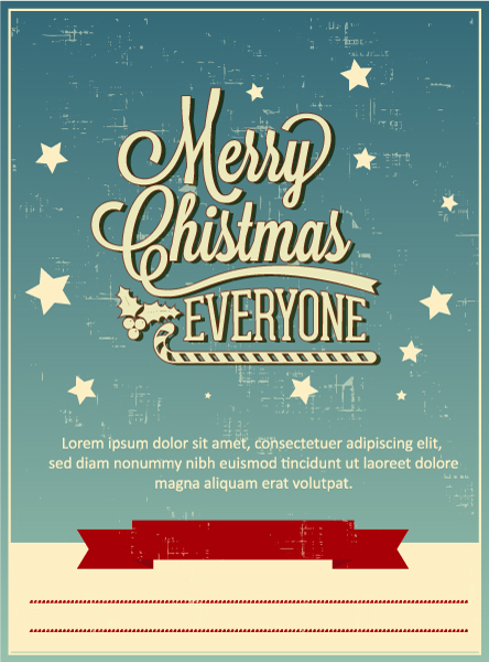 Download Cover Vector: Christmas Vector Illustration 5