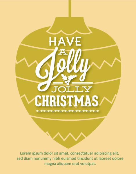 Smashing Christmas Vector Illustration: Christmas Vector Illustration Illustration 2015 05 05 451