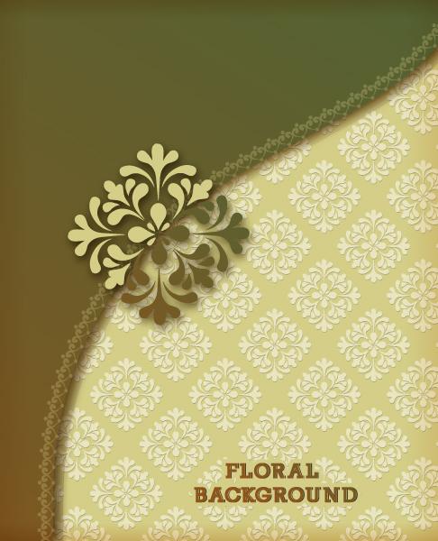 floral background vector illustration 5