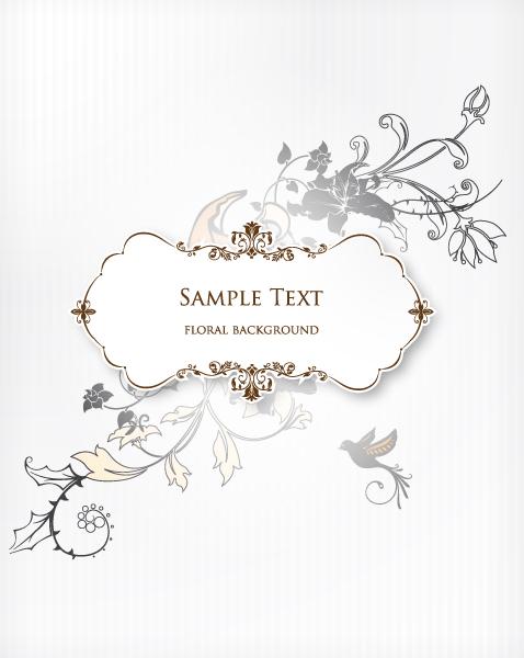 floral frame vector illustration with floral frame 2015 05 05 741