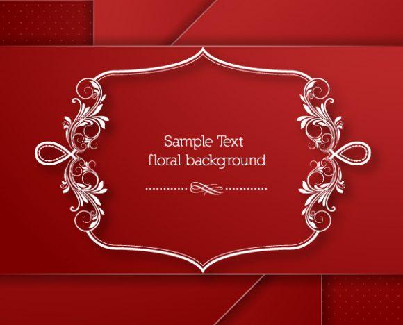 Brilliant Minimal Eps Vector: Floral Frame Eps Vector Illustration With Floral Frame 5