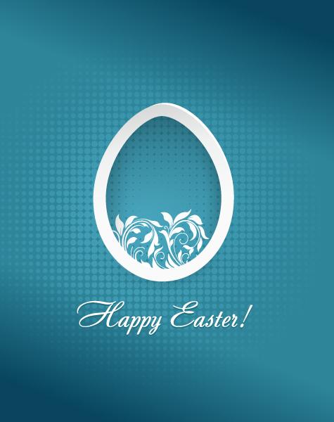 Gorgeous Easter Vector Artwork: Easter Vector Artwork Illustration With Easter Egg 2015 05 05 801