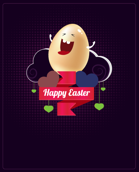 Easter Vector Artwork Easter Vector Illustration  Easter Egg 2015 05 05 820