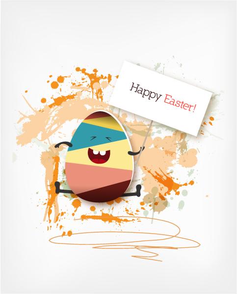 Easter Vector Artwork Easter Vector Illustration  Easter Egg 3