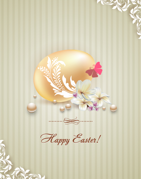 Paper Vector Artwork Easter Vector Illustration  Easter Egg 3